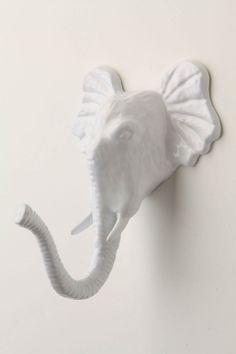 Encased Elephant Hook - Anthropologie.com $20.00