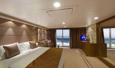 I am dreaming of sailing on MSC Divina - MSC Yacht Club De Luxe Suite - MSC Cruises