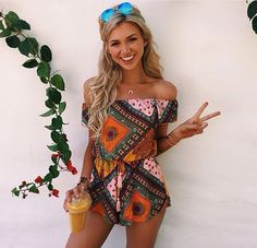 Cute romper for the summer