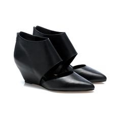 Annie Cut-Out Wedge, Loeffler Randall. My go-tos for rocking with dresses, pants and skirts running around from show to show.