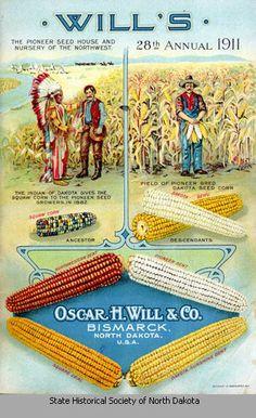 Oscar H. Will & Company seed catalog, 1911
