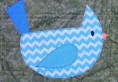 Your latest project is for a child, and the Little Blue Bird Free Applique Pattern is the perfect addition to making your work ready for the little one.
