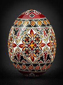 Easter Egg Pattern, Duck Eggs, Easter Egg Designs, Egg Dye, Ukrainian Easter Eggs, Symbols, Hand Painted, Board, Crafts