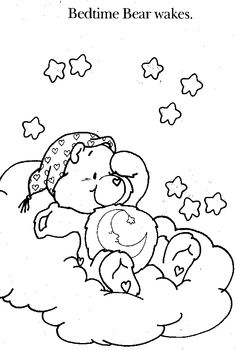 The Care Bears coloring picture | Coloring pages | Pinterest | Care ...