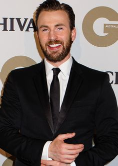 "dailychrisrevans: ""  Chris Evans arrives at the GQ Men of the Year Awards 2016 at The Ivy on November 16, 2016 in Sydney, Australia """