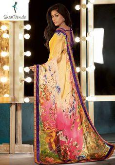 MARVELOUS PINK DESIGNER #SAREE Fabric: #Georgette Code:SMR1308