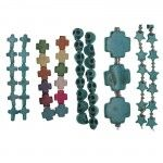 NEW! Shaped Beads  #Blissbeads available at @J O-Ann Fabric and Craft Stores  from #HalcraftUSA