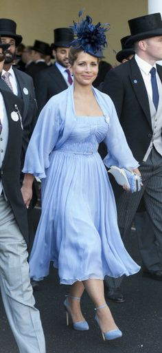 Princess Haya, June 17, 2014 | Royal Hats....  Royal Ascot Day 1....Posted on June 18, 2014 by HatQueen