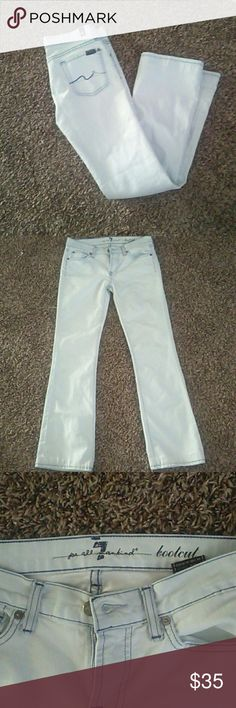 7 for All Mankind Jeans Good condition. Bootcut. Size 26. Inseam 28.5 7 For All Mankind Jeans Boot Cut