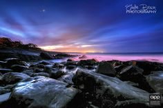HDR image of Cabarita beach which is Technically Northern New South Wales at sunset. www.andrebrown.photography