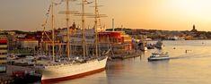 Harbour of Gothenburg Photo by Göran Assner