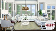 Sims 4 Updates: Simsational Designs - Build / Walls / Floors : Austere Build Set, Custom Content Download!