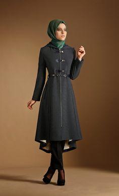 Tenue et vêtements hijab hiver