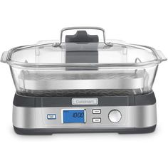 Cuisinart Cook Fresh Glass Steamer: TrueGether.com Healthy Dishes, Healthy Cooking, Grilling Sides, Steamer Recipes, Safe Glass, Steel Rims, Small Kitchen Appliances, Rice Cooker, Other Recipes