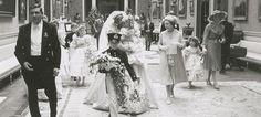 Firmadas por Patrick Lichfield, se dan a conocer nuevas imágenes de la boda de la Princesa Diana.