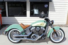 2016 Custom Indian Scout Custom CUSTOM PAINT In MURRELLS INLET SC - AUTOMAXX/COASTAL VICTORY-POLARIS