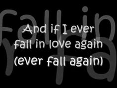 If I Ever Fall In Love Again Lyrics-Shai-this is so different!! LOVE!