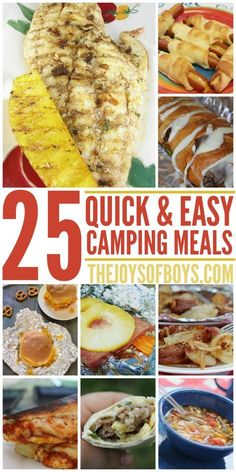 Camping With Kids Can Be Stressful But The Meals Dont Have To