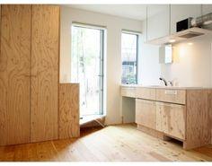 (06号室)こっちは玄関横がキッチン