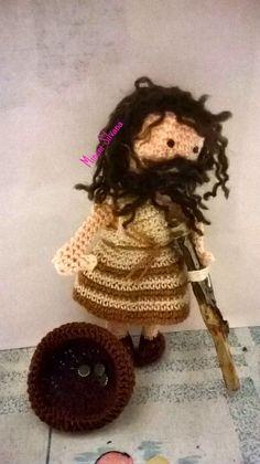 mendicante #presepe#amigurumi #crochet #uncinetto