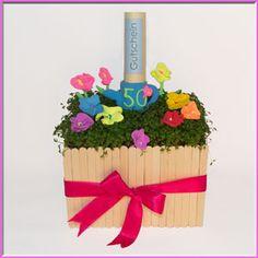 Geburtstagstags-Gutschein basteln Modellieren mit der Knetmasse Super Fluffy