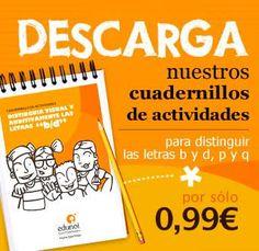 Descarga nuestros cuadernillos de actividades