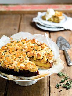 Emma Dean's honey thyme cake http://www.eatout.co.za/recipe/emma-deans-honey-thyme-cake/