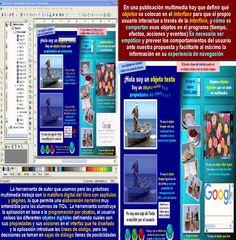Ficha de trabajo para elaborar programas interactivos con Herramientas de Autor que programan por Objetos y no por líneas de código