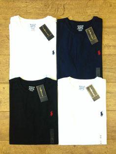 Ralph Lauren Men's Custom Fit Crew Neck T-Shirt
