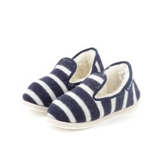 17407bbccd1 Armor Lux Lux Striped Slipper (Navy Blue   Nature)