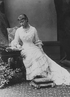 Princess Victoria of Hesse, later Marchioness of Milford Haven. She is the grandmother of Prince Philip, Duke of Edinburgh.
