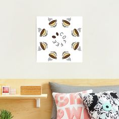 """""""8 Hour Coffee Clock Work Day"""" Photographic Print by Pultzar   Redbubble"""