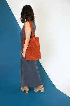 Image of Suede Dot Tote