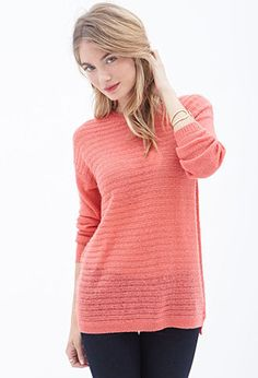Ribbed Knit Sweater | FOREVER 21 - 2000060634
