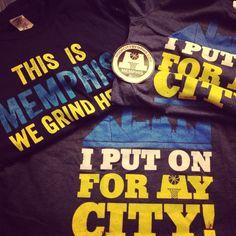 Love my Hoop City t-shirts!