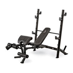 Marcy Olympic Mid-Size Workout Weight Bench Strength Training and Bodybuilding Multi-Functional Station for Home Gym Muscle Building Workouts, Gym Workouts, At Home Workouts, Marcy Home Gym, At Home Gym, Home Gym Equipment, No Equipment Workout, Fitness Equipment, Workout Equipment