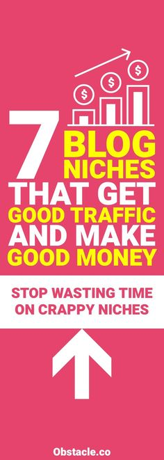 If you want to make money blogging in a reasonable amount of time then you should pick a niche with a good audience. Here are 7 blog niches that you should choose when starting a new blog.