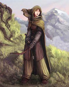fantasy female ranger - Pesquisa Google