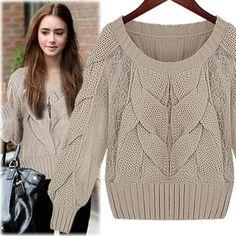 alternative caple knit