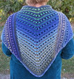 Free knitting pattern for lalas simple shawl this super easy free knitting pattern for simple lace shawl easy shawl is knit in three panels in dt1010fo