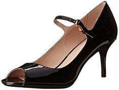 370bce6e84 Calvin Klein Women's Patsi Pumps Shoes, Gloss Black | Products | Calvin  klein shoes, Pump shoes, Shoes
