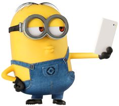 Minion Selfie Large Transparent Image​ | Gallery Yopriceville - High-Quality Images and Transparent PNG Free Clipart