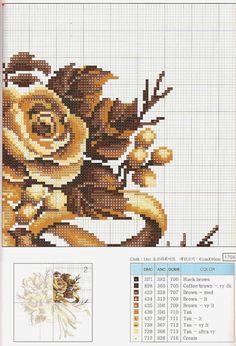 PLANETA PONTO CRUZ 2: Almofada Rosas Douradas