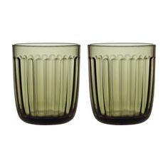 Shop iittala - Raami Tumbler Set Moss Green at Peter's of Kensington. View our range of iittala online. Why in the world would you shop anywhere else for iittala? Sushi Set, Carafe, Mousse, Water Into Wine, Christmas Dishes, Clean Dishwasher, Drinking Glass, Pressed Glass, Colored Glass