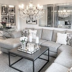 Awesome small living room designs are offered on our web pages. Check it out and you will not be sorry you did. Glam Living Room, Living Room Decor Cozy, Interior Design Living Room, Home And Living, Living Room Designs, Small Living, Interior Rugs, Living Room Inspiration, Home Bedroom