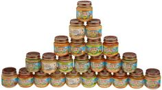 Earth's Best Fruit And Vegetable Variety Pack, 4.0-Ounces Jars, 24-Count - http://goodvibeorganics.com/earths-best-fruit-and-vegetable-variety-pack-4-0-ounces-jars-24-count/
