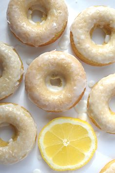 Make these Baked Lemon Donuts from aliceandlois.com