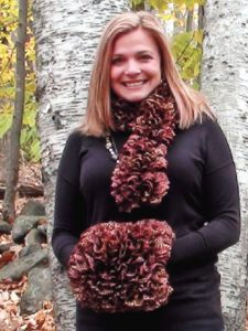Cute Winter Scarf and Winter Muff Patterns