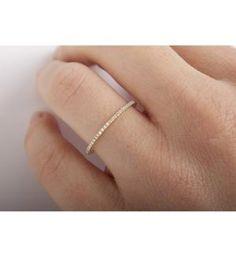Catbird :: Catbird Jewelry :: Fairy Light Eternity Band, White Diamonds