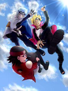 Boruto Naruto Next Generation 🍀 Anime Naruto, Naruto Minato, Naruto Shippuden, Himawari Boruto, Naruto Team 7, Naruto Art, Narusasu, Naruto Wallpaper, Sarada Uchiha Wallpaper